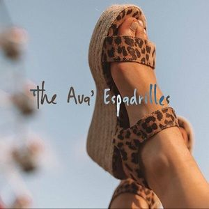 Shoes - 'The Ava' Espadrilles In Leopard Print